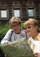 Senior women tourism