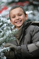Child winter portrait