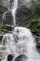 Wasserfall im Nationalpark Hohe Tauern in Österreich, Wasser, Gebirgsbach, fließendes Wasser, Berge, Alpen, Jungfernsprung bei Heiligenblut *** Local ...