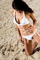 Woman beach.