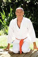 Man kimono judo