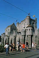 Belgium _ Ghent _ Castle of the Counts of Flanders