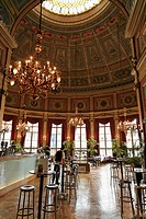 Belgium _ Flanders _ Antwerp _ Bourla Theater Foyer restaurant