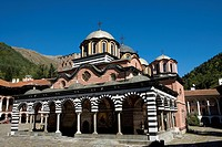 Bulgaria _ South West _ Rila Monastery _ UNESCO World Heritage Site