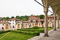 chiesa romanica di san donato, carpugnino, piemonte, italia