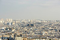 View Of Parisian Skyline