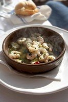 Prawns in Garlic _ Tapas