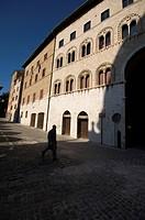 senate palace, ancona, marche, italy