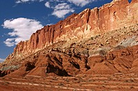 Capitol Reef NP is so named because parts of it resemble buildings in Washington DC