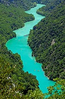 Gorges du Verdon, Verdon River canyon, Verdon Regional Natural Park, Provence-Alpes-Côte d'Azur, France