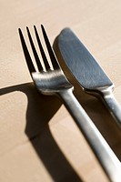 Fork and table knife