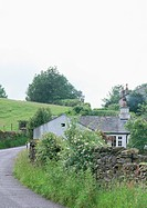 An isolated house in Near Sawrey