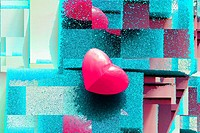 valentine heart, heart abstract