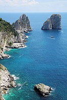Capri, Italy, Sea stacks