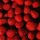 Red Strawberries close_up