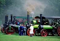 Stradbally, Co Laois, Ireland, Traction Engine Rally