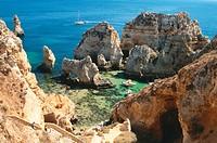 Ponta da Piedade, near Lagos, Algarve, Portugal