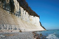 island Rügen _ chalk cliffs