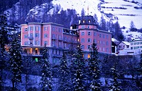 Hotel Belvedere in Scuol, Lower Engadine, Engadine, Switzerland