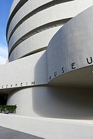 The Solomon R. Guggenheim Museum, Manhattan, New York City, New York, USA