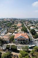 Aerial photograph of the village of Zikhron Ya´aqov