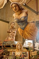 Donna Demente´s studio, a ´must see´ gallery in historic quarter, Oamaru, Otago New Zealand