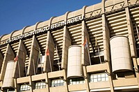 Santiago Bernabeu Stadium home of Real Madrid Football Club, Madrid, Spain
