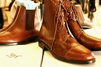 Boots. Fira del cavall ´09, Sabadell, Barcelona province, Catalonia, Spain