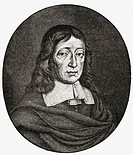 John Milton aged 62,1608 to 1674  English poet, author, polemicist and civil servant  From the book The English Illustrated Magazine 1891-1892