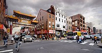 Chinatown scene, Philadelphia, Pennsylvania, USA