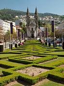 Iglesia de San Gualter. Guimaraes. Portugal.