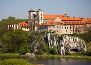 Benedictine Abbey in Tyniec, one of the oldest in Poland, 11 century