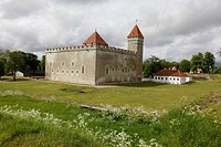 Kuressare castle Saaremaa island Estonia, Baltic State, Eastern Europe. Photo by Willy Matheisl