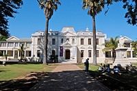 Dutch style architecture, Stellenbosch, Western Cape, South Africa