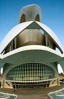Palacio de las Artes Reina Sofía, City of Arts and Sciences by S  Calatrava  Valencia  Comunidad Valenciana, Spain