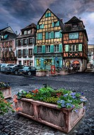 , Timber Framed Buildings, Colmar, Alsace, France