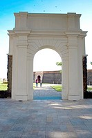 Portal, Garden, Forte do Castelo, Belém, Pará, Brazil