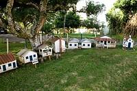 Model of a Farm of Cocoa, Ilhéus, Bahia, Brazil