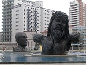 Sculpture, Paz Square, Gilmar Pinna Sculptor, Boqu