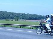 Dam, Motorcycle, Imigrantes Highway, São Bernardo