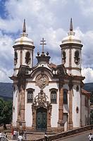 São Francisco Church, Ouro Preto, Minas Gerais, Brazil