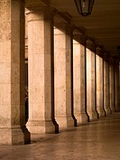 Classical colonnade, Rome, Italy