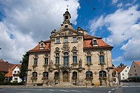 Town hall, Ellingen, Middle Franconia, Bavaria, Germany