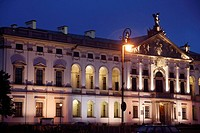 Poland, Warsaw, Krasinski Palace, National Library