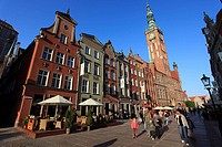 Poland, Gdansk, Town Hall, Long Street