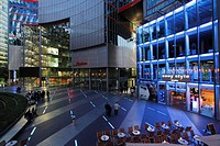 Germany, Berlin, Potsdamer Platz, Sony Center interior, modern architecture