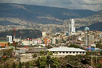 View of city from the Basilica of the Virgin of Suyapa, Tegucigalpa, Honduras