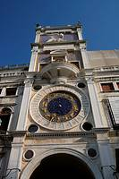 Torre dell'Orologio (St. Mark's Clocktower). St. Mark's Square, Venice, Italy