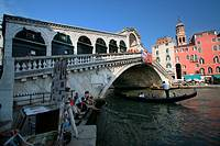 Rialto Brigde, Grand Canal, Venice