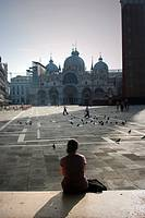 St. Mark 's Square and Basilica. Venice, Italy